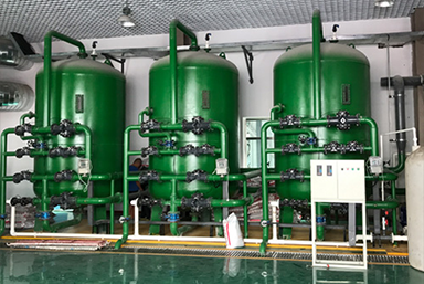 阿东热源厂120吨软水设备